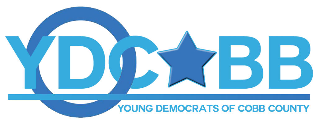 Young Democrats of Cobb County Logo Design