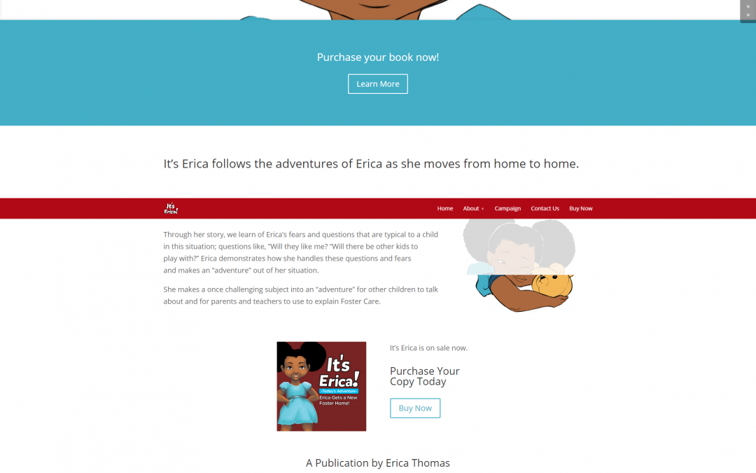 It's Erica Website