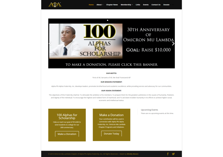 Omicron Mu Lambda Website